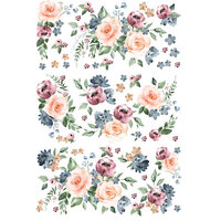 Re-Design - Decor Transfers - Watercolor Bloom