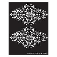 Re-Design - Stencils - Dotted Flourish