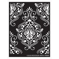Re-Design - Stencils - Flourish Emblem
