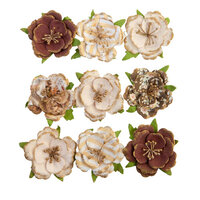 Prima - Golden Desert Collection - Flower Embellishments - Cholla