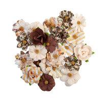 Prima - Golden Desert Collection - Flower Embellishments - Salton