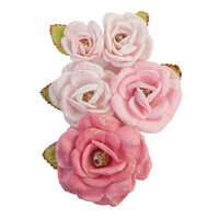 Prima - With Love Collection - Flower Embellishments - True Friends