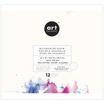Prima - Art Philosophy - 12 x 12 Watercolor Paper Pad