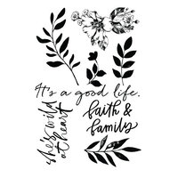 Prima - Watercolor Floral Collection - Clear Photopolymer Stamps