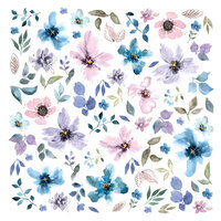 Prima - Watercolor Floral Collection - Ephemera - Set Two