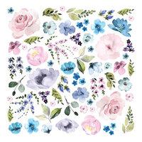 Prima - Watercolor Floral Collection - Ephemera - Set Three