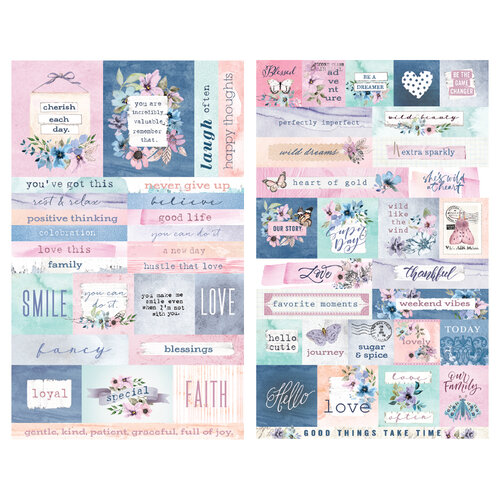 Prima - Watercolor Floral Collection - Stickers