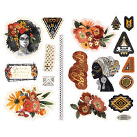 Prima - Diamond Collection - Chipboard Stickers