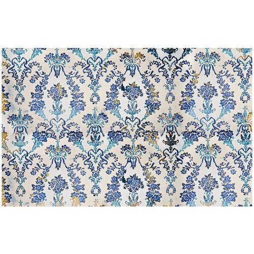 Re-Design - Decoupage Decor Tissue Paper - Cobalt Flourish