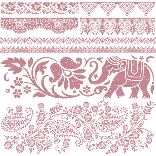 Re-Design - Clear Cling Decor Stamps - Bohemian Dreamer
