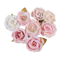 Prima - Magic Love Collection - Flower Embellishments - Pink Dreams