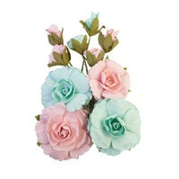 Prima - Magic Love Collection - Flower Embellishments - Forever
