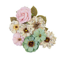 Prima - My Sweet Collection - Flower Embellishments - Sewn Together