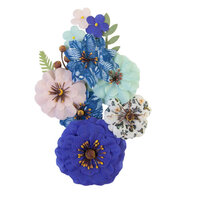 Prima - Nature Lover Collection - Flower Embellishments - Natural Beauty