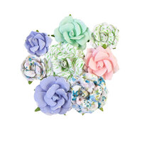 Prima - Watercolor Floral Collection - Flower Embellishments - Rose Gouache