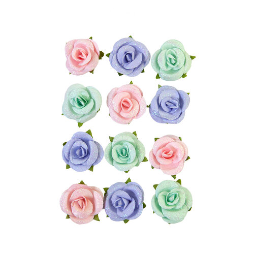 Prima - Watercolor Floral Collection - Flower Embellishments - Watercolor Sweet