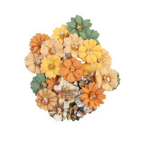 Prima - Diamond Collection - Flower Embellishments - Together