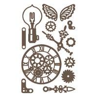 Prima - Decorative Chipboard - Set 02
