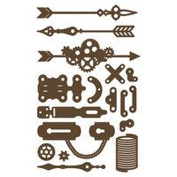 Prima - Decorative Chipboard - Set 03