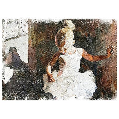 Re-Design - Mulberry Tissue - Dancer