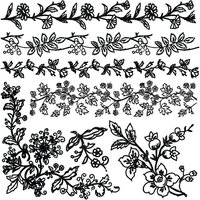 Re-Design - Clear Cling Decor Stamps - Bold Branches