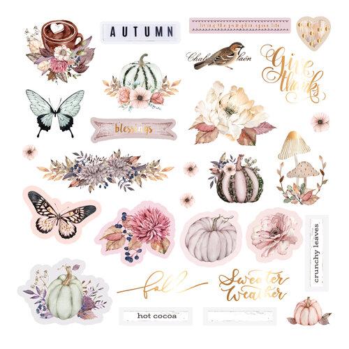 Prima - Hello Pink Autumn Collection - Ephemera