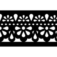 Re-Design - Stick and Style Stencil Roll - Classic Lace