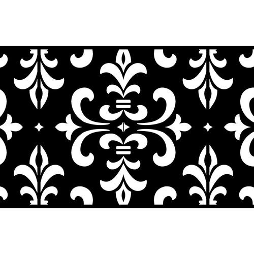 Re-Design - Stick and Style Stencil Roll - Modern Damask