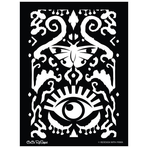 Re-Design - Stencils - CeCe All Seeing Ikat Pattern