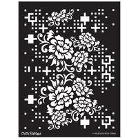 Re-Design - Stencils - CeCe Floral Matrix
