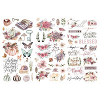Prima - Hello Pink Autumn Collection - Rub Ons