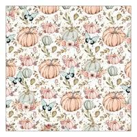 Prima - Hello Pink Autumn Collection - 12 x 12 Specialty Paper - Vellum
