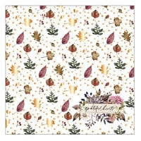 Prima - Hello Pink Autumn Collection - 12 x 12 Specialty Paper - Acetate