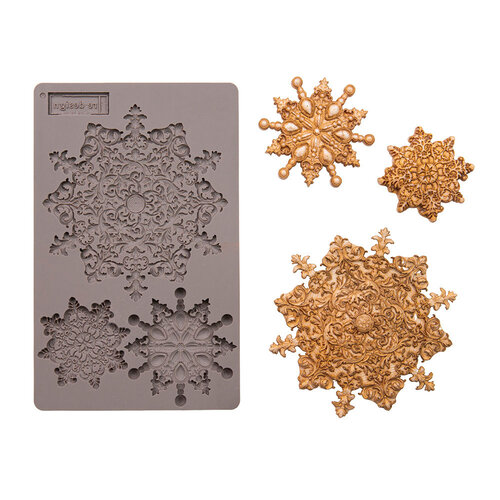 Re-Design - Decor Mould - Snowflake Jewels