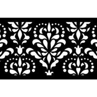 Re-Design - Stick and Style Stencil Roll - Damask Flourish