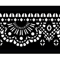 Re-Design - Stick and Style Stencil Roll - Mendhi Border