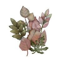 Prima - Hello Pink Autumn Collection - Flower Embellishments - Autumn Foliage