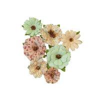 Prima - Hello Pink Autumn Collection - Flower Embellishments - Warm Mittens