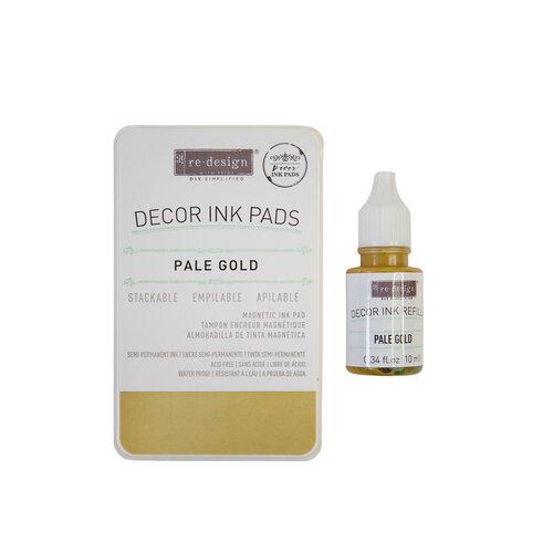 Re-Design - Decor Ink Pad - Pale Gold