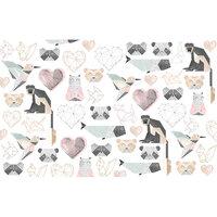 Re-Design - Decoupage Decor Tissue Paper - Origami Love