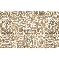 Re-Design - Decoupage Decor Tissue Paper - Engraved Numbers