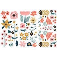 Re-Design - Transfers - Doodle Flowers