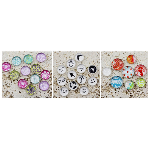 Prima - Pebbles Kit - 3 Pack
