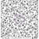 Prima - Paintables - 12 x 12 Paper - Six