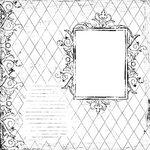 Prima - Paintables - 12 x 12 Paper - Nine