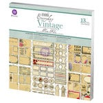 Prima - Everyday Vintage Collection - 12 x 12 Paper Kit - Flora