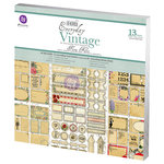 Prima - Everyday Vintage Collection - 12 x 12 Paper Kit - Flora