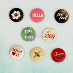 Prima - Everyday Vintage Collection - Flair Buttons - One