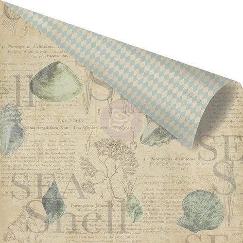 Prima - Seashore Collection - 12 x 12 Double Sided Paper - Sea Shell