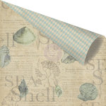Prima - Seashore Collection - 12 x 12 Double Sided Paper - Sea Shell
